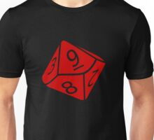 10 Sided Dice D10 Unisex T-Shirt