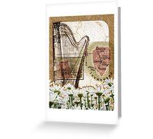 [ harpe ] Greeting Card