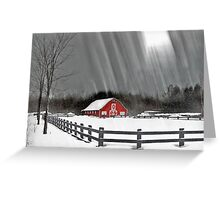 Ode to winter Greeting Card