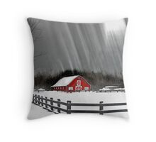 Ode to winter Throw Pillow