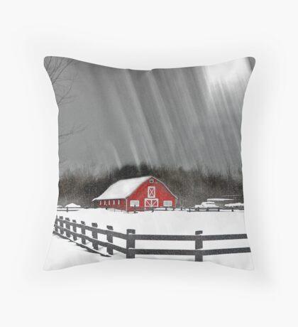 Ode to winter Throw Pillow