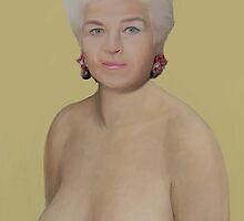 Pat Butcher: Seductress by GarfunkelArt