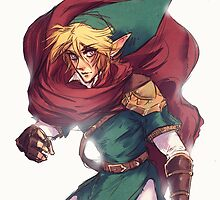 First Hero Link Portrait by xradiosity