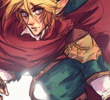 First Hero Link Portrait Sticker