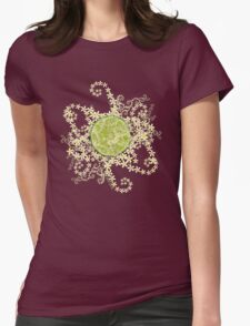 Lime and flowers garland T-Shirt