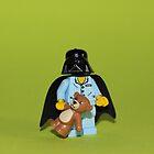 Sleepy Darth Vader by Kirk Arts