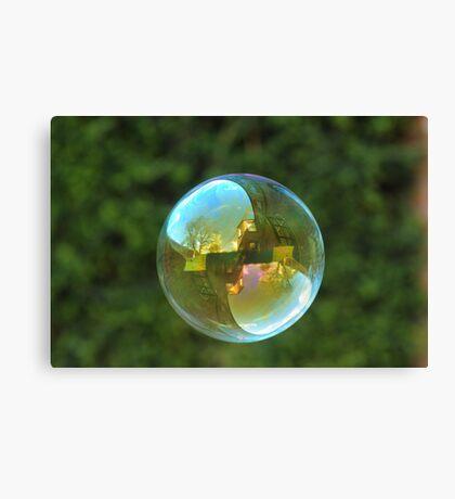 Earth Bubble Canvas Print
