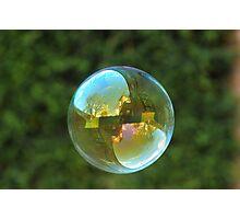 Earth Bubble Photographic Print
