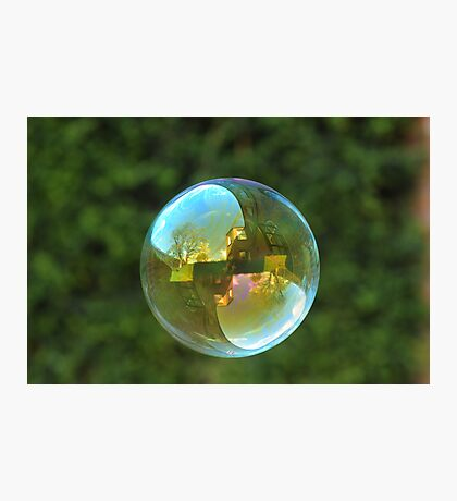 Earth Bubble Photographic Print
