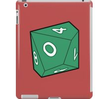 10 Sided Dice D10 iPad Case/Skin
