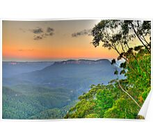 Tree Change - Blue Mountains World Heritage Area - The HDR Experience Poster