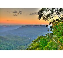 Tree Change - Blue Mountains World Heritage Area - The HDR Experience Photographic Print