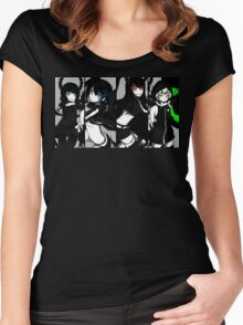 Black Rock Shooter, Chars  Women's Fitted Scoop T-Shirt