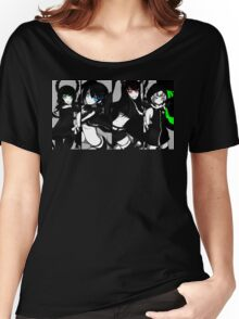 Black Rock Shooter, Chars  Women's Relaxed Fit T-Shirt