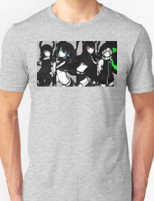 Black Rock Shooter, Chars  Unisex T-Shirt