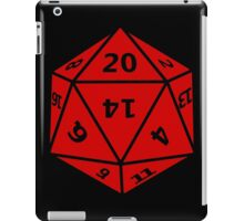 20 Sided Dice D20 iPad Case/Skin