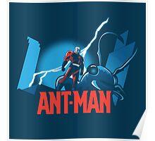 ANT-MAN / BAT-MAN MASHUP Poster