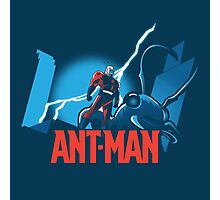 ANT-MAN / BAT-MAN MASHUP Photographic Print