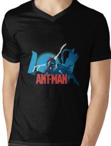 ANT-MAN / BAT-MAN MASHUP Mens V-Neck T-Shirt