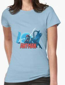 ANT-MAN / BAT-MAN MASHUP Womens Fitted T-Shirt