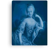Blue Marie Canvas Print