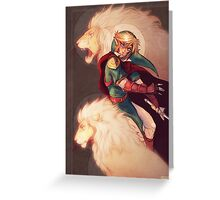 Prince of Lions Greeting Card
