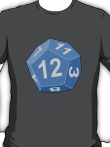 12 Sided Dice D12 T-Shirt