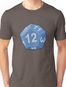 12 Sided Dice D12 Unisex T-Shirt
