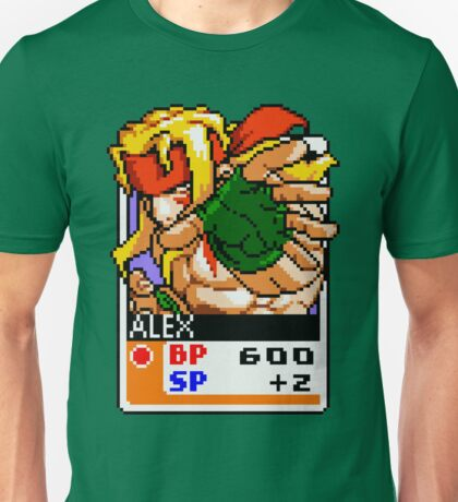 Alex - Street Fighter Unisex T-Shirt