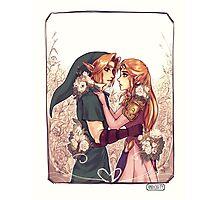 Zelda & Link Photographic Print