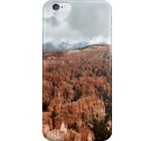 Bryce Canyon on a Cloudy Day iPhone Case/Skin