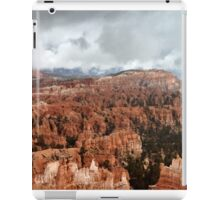 Bryce Canyon on a Cloudy Day iPad Case/Skin
