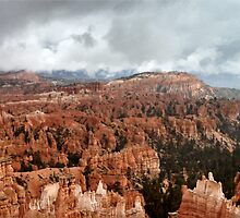 Bryce Canyon on a Cloudy Day by dswift