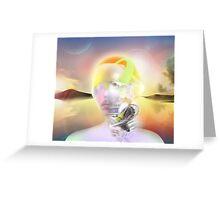 post-human cybrid Greeting Card