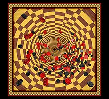 Checkeround by ArtByDrew