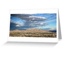 Las Vegas Skyline Greeting Card