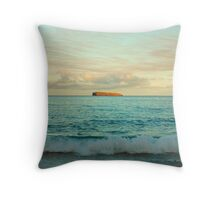 Molokini At Sunrise, Maui Throw Pillow