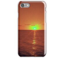 Red Dusk iPhone Case/Skin