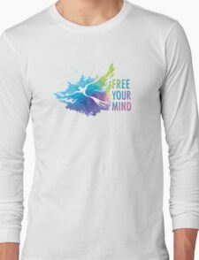 Free Your Mind - Dove Long Sleeve T-Shirt