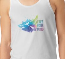Free Your Mind - Dove Tank Top