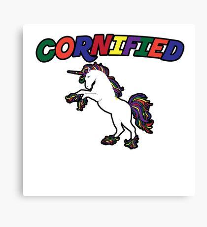 Unicorn Humor Canvas Print