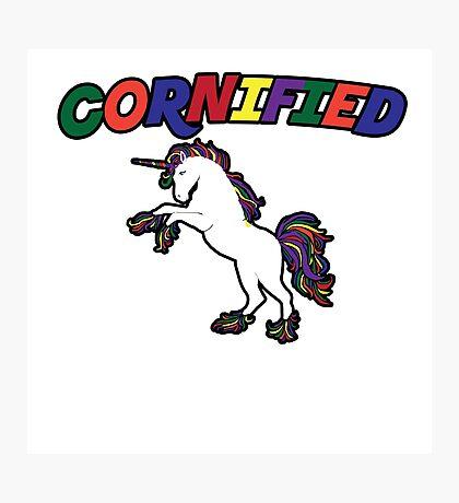 Unicorn Humor Photographic Print