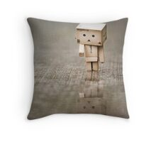 the way I see it, if you want the rainbow, you gotta put up with the rain... Throw Pillow