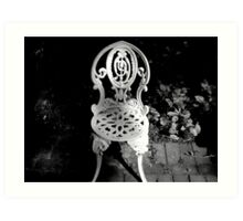 Sit Awhile and Dream Art Print
