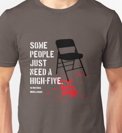 some people just need a high-five Unisex T-Shirt