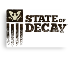 state of decay logo Canvas Print