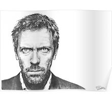 Hugh Laurie aka House Poster