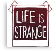 life is strange logo Canvas Print