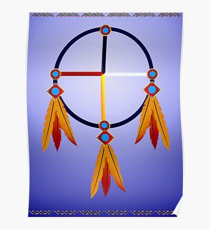 Medicine Wheel Poster