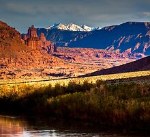 Moab Scenic Route by Josh Dayton